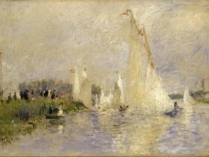 Regatta at Argenteuil by Pierre-Auguste Renoir