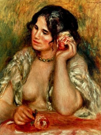Renoir: Gabrielle, 1911 by Pierre-Auguste Renoir