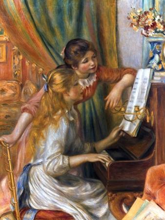 Renoir: Girls/Piano, 1892