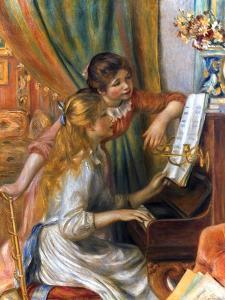 Renoir: Girls/Piano, 1892 by Pierre-Auguste Renoir