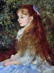 Renoir: Mlle D'Anvers, 1880 by Pierre-Auguste Renoir