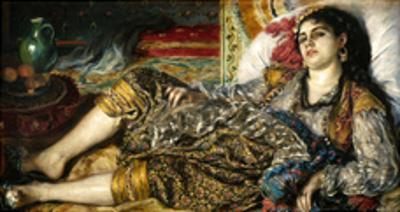 Renoir: Odalisque, 1870 by Pierre-Auguste Renoir