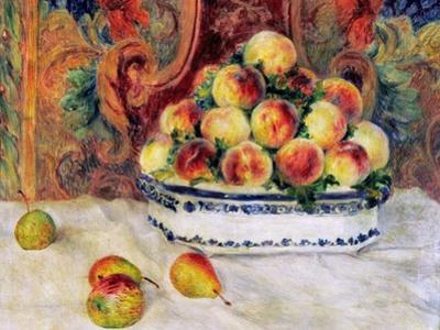 Renoir: Peaches, 1881 by Pierre-Auguste Renoir