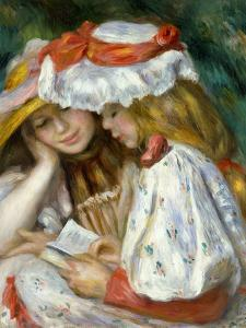 Renoir: Two Girls Reading by Pierre-Auguste Renoir