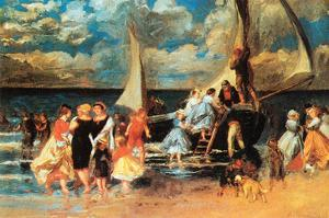 Return from a Boating Outing by Pierre-Auguste Renoir