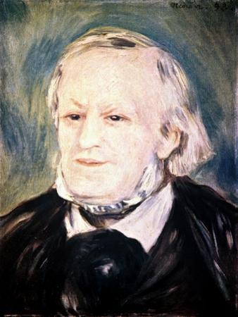 Richard Wagner (1813-188), German Composer, Conductor, and Essayist, 1882 by Pierre-Auguste Renoir