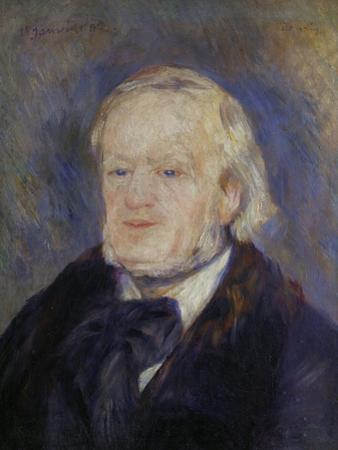 Richard Wagner, 1882 by Pierre-Auguste Renoir