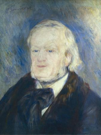 Richard Wagner by Pierre-Auguste Renoir