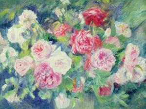 Roses, circa 1885 by Pierre-Auguste Renoir