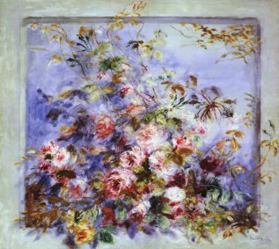 Roses dans une Fenetre