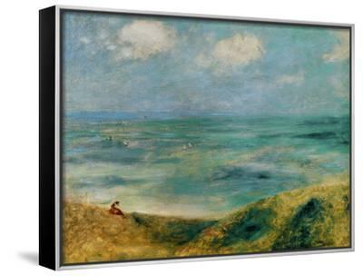 Seashore at Guernsey, 1883 by Pierre-Auguste Renoir