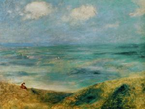 Seashore at Guernsey, 1883 by Pierre-Auguste Renoir