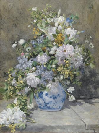 Spring Bouquet, 1866 by Pierre-Auguste Renoir