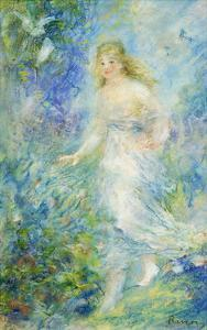Spring (The Four Seasons) by Pierre-Auguste Renoir
