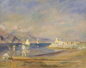 St Tropez, France by Pierre-Auguste Renoir