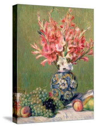 Still Life of Fruits and Flowers, 1889