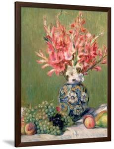 Still Life of Fruits and Flowers, 1889 by Pierre-Auguste Renoir
