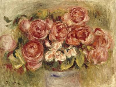 Still Life of Roses in a Vase, 1880s and 1890s by Pierre-Auguste Renoir