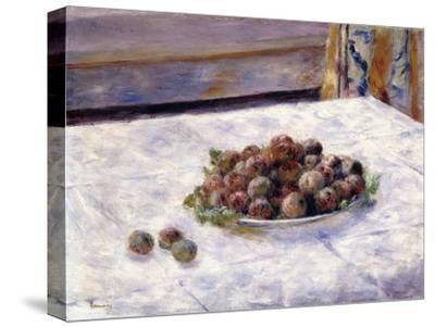 Still Life, Prunes on a Plate, C.1884