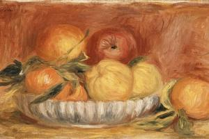 Still-Life with Apples and Oranges; Nature Morte Aux Pommes Et Oranges, Late 1890's by Pierre-Auguste Renoir