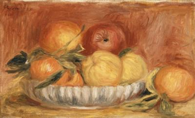 Still-life with Apples and Oranges by Pierre-Auguste Renoir