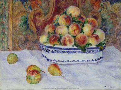Still Life with Peaches, 1881