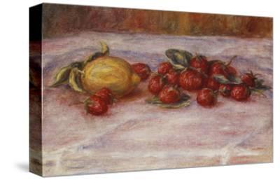 Strawberries and Lemons; Fraises Et Citron