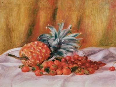 Strawberries and Pineapple, C.1895 by Pierre-Auguste Renoir