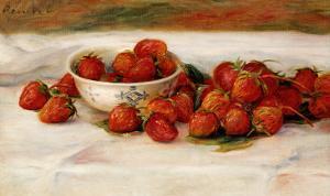 Strawberries by Pierre-Auguste Renoir