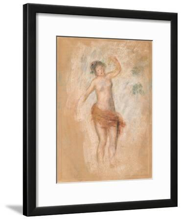 Study of a Faun Woman Dancing for 'Oedipus Rex', C. 1900