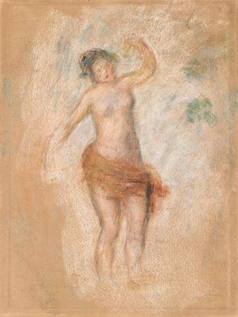 Study of a Faun Woman Dancing for 'Oedipus Rex', C. 1900 by Pierre-Auguste Renoir