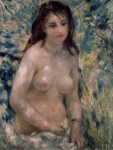 Study. Torso, Effect of Sunlight, Ca. 1875-1876 by Pierre-Auguste Renoir