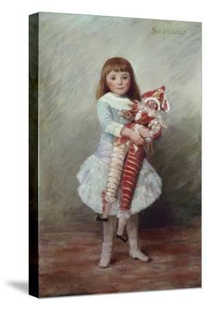 Suzanne with Harlequin Puppet