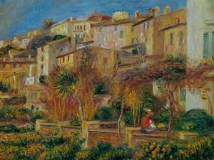 Terrace at Cagnes, 1905 by Pierre-Auguste Renoir