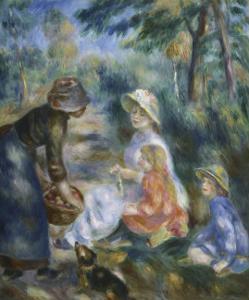 The Apple Seller, c.1890 by Pierre-Auguste Renoir
