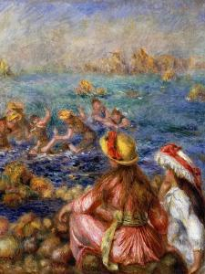 The Bathers, 1892 by Pierre-Auguste Renoir