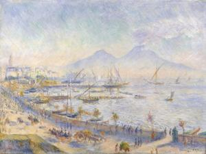 The Bay of Naples, 1881 by Pierre-Auguste Renoir