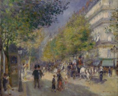 The Boulevards (Les Grands Boulevards), 1875