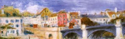 The Bridge at Chatu (detail) by Pierre-Auguste Renoir