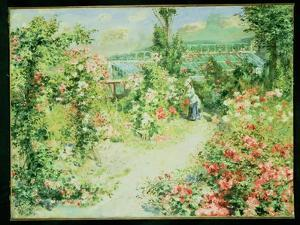 The Conservatory by Pierre-Auguste Renoir