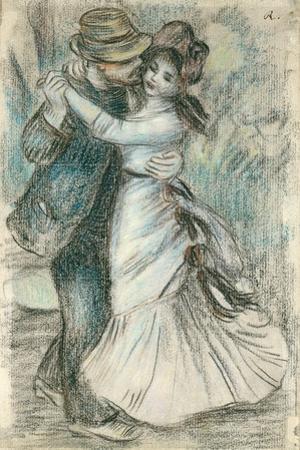 The Dance, 1883 by Pierre-Auguste Renoir