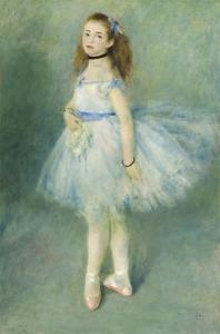 The Dancer, 1874 by Pierre-Auguste Renoir
