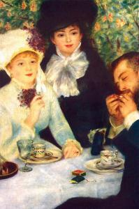 The End of the Breakfast by Pierre-Auguste Renoir