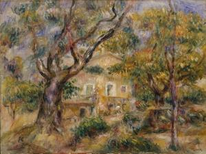 The Farm at Les Collettes, Cagnes, 1908-14 by Pierre-Auguste Renoir