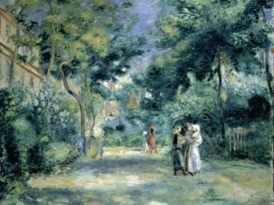 The Gardens in Montmartre, 19th Century