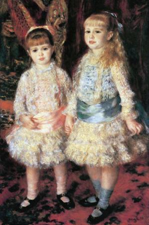 The Girls Cahen D'Anvers by Pierre-Auguste Renoir