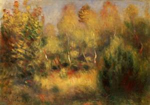 The Glade by Pierre-Auguste Renoir