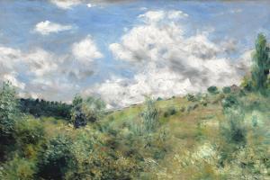 The Gust of Wind, C.1872 by Pierre-Auguste Renoir