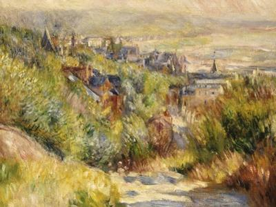 The Heights at Trouville by Pierre-Auguste Renoir