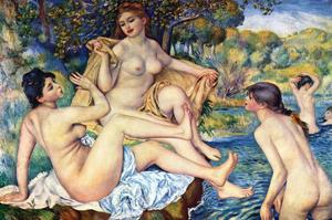 The Large Bathers by Pierre-Auguste Renoir